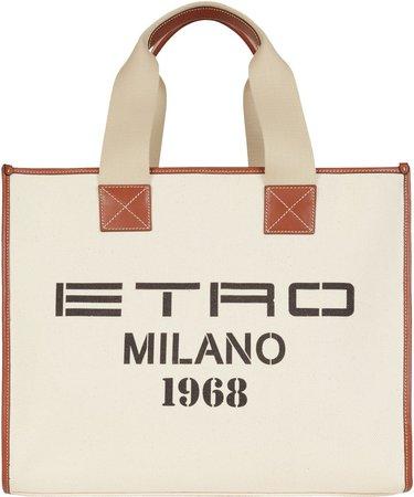 Milano 1968 Canvas Tote