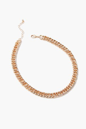 Chunky Curb Chain Necklace | Forever 21