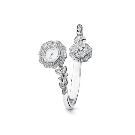 Camélia Jewelry diamonds Watch