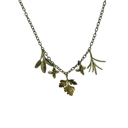 Petite Herb Charm Necklace – American Folk Art Museum Shop