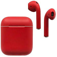 red AirPod - Google Search