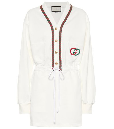 Gucci - Technical jersey dress | Mytheresa