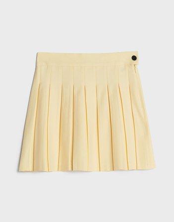 Short pleated skirt - New - Bershka United States
