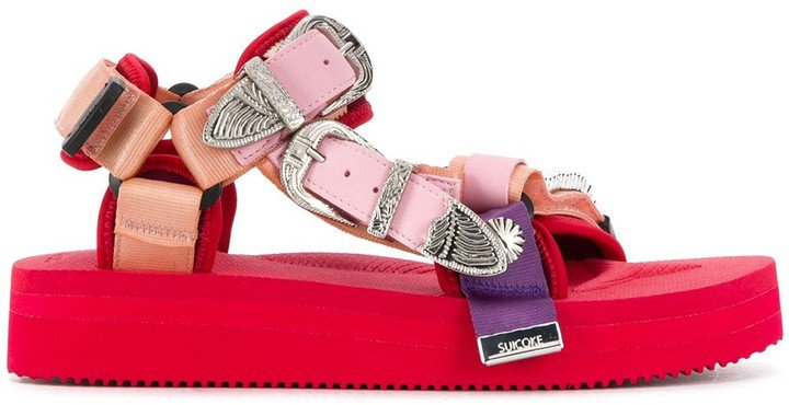 Chunky Multi-Strap Sandals