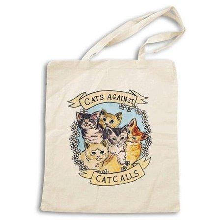 Cats Against Cat Calls Tote