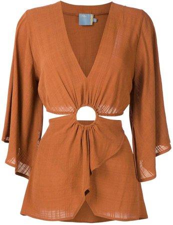 Cruise Milos silk blouse