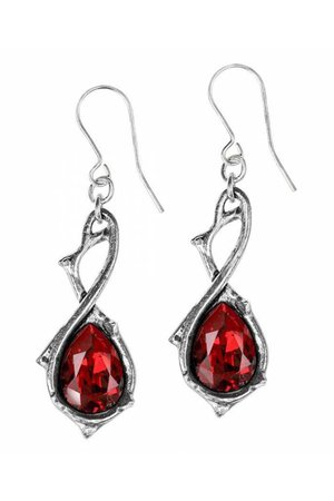 Passionette Earrings by Alchemy Gothic | Gothic Jewellery