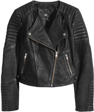 H&M Faux Leather Biker Jacket