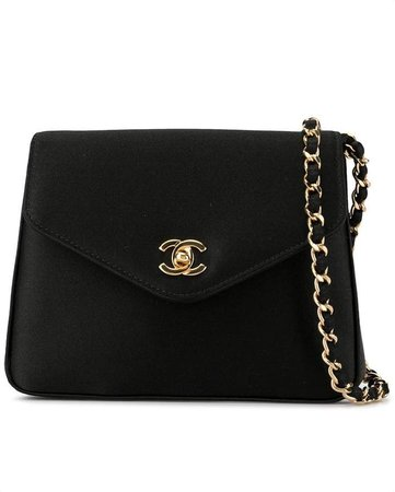 Pre-Owned chain pouch clutch