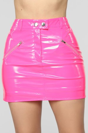 Club Night Skirt - Neon Pink