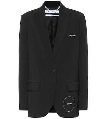 Gabardine blazer | Off-White - Mytheresa
