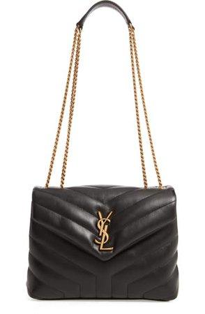 Saint Laurent Small Loulou Leather Shoulder Bag | Nordstrom