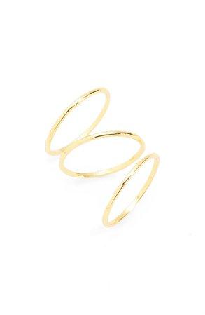 gorjana Set of 3 Rings (Set of 3) | Nordstrom