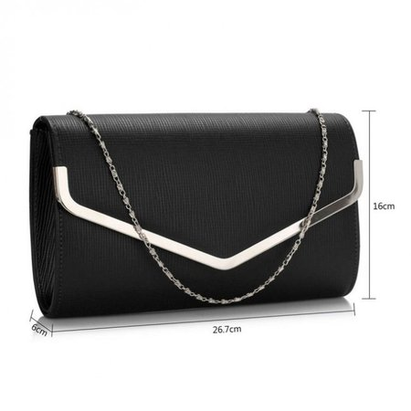 Envelope Flap Clutch Purse