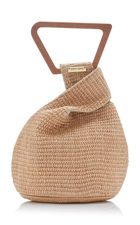 Astrea Mini Raffia Top Handle Bag by Cult Gaia | Moda Operandi