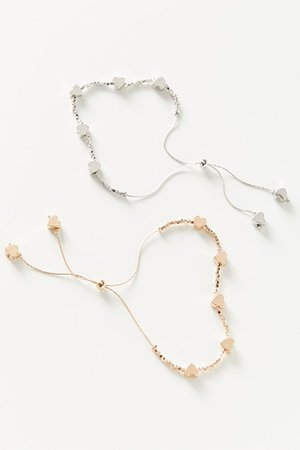 Beaded Icon Bracelet Set | Urban Outfitters