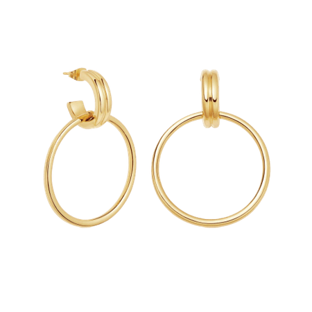 Missoma gold ancien chandelier hoops