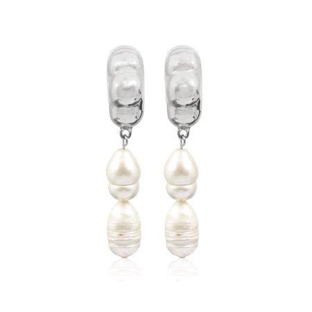 RAVELLO Earrings - Silver - ALONA