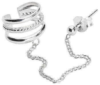 Silver Cuff Ear Stud | EMP