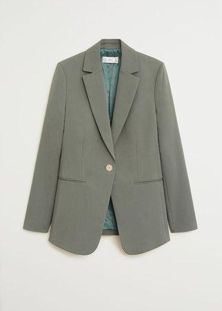 Suit blazer - Women | Mango USA