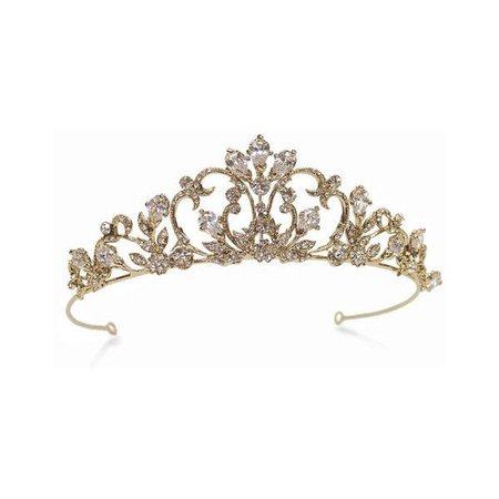 Gold Tiara Crown
