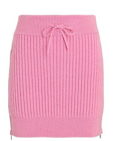 David Koma Rib Knit MIni Skirt | INTERMIX®