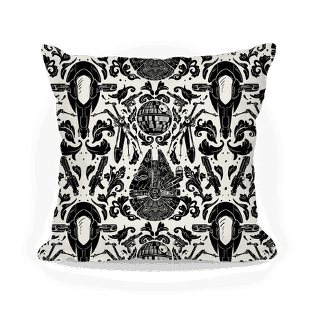 Rebels vs The Empire Technology Throw Pillow   LookHUMAN
