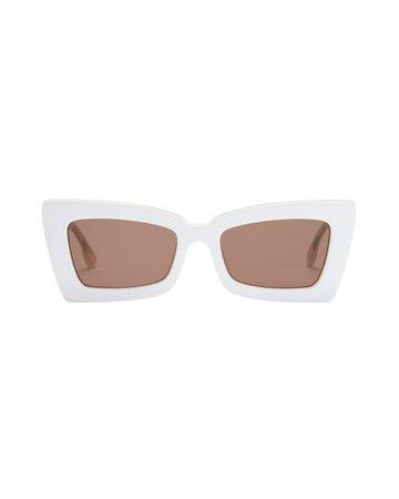 Zaap Rectangle Sunglasses | INTERMIX®
