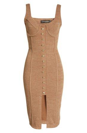 Lavish Alice Corset Rib Knit Dress | Nordstrom