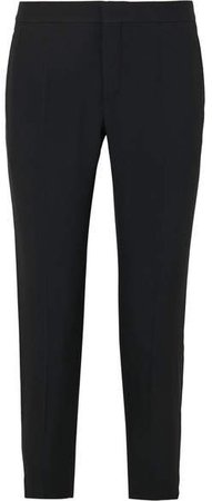 Cady Straight-leg Pants - Black
