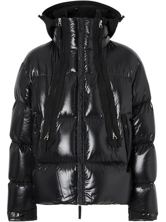 Burberry Hooded Puffer Jacket 8023659 Black | Farfetch