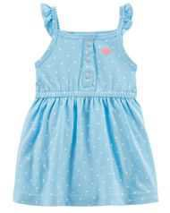 Baby Girl Jellyfish Jersey Dress | Carters.com