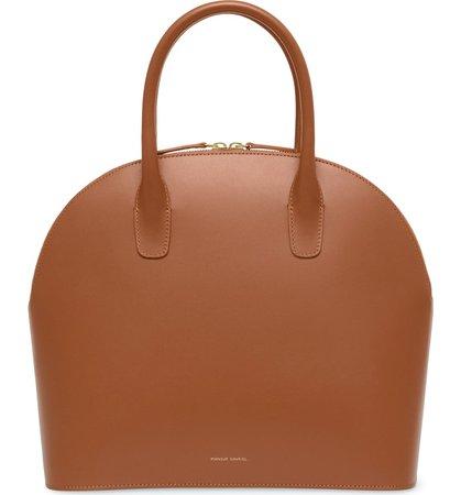 MANSUR GAVRIEL Top Handle Rounded Leather Bag   Nordstrom