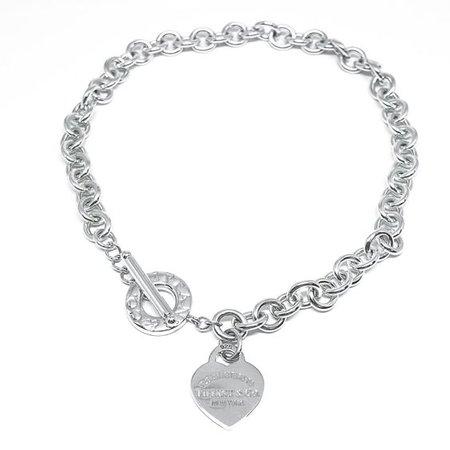 tiffanys heart necklace