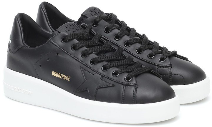 Pure Star leather sneakers