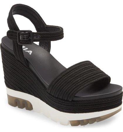 MIA Nakita Platform Wedge Sandal (Women) | Nordstrom