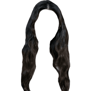 HAIR BLACK PNG