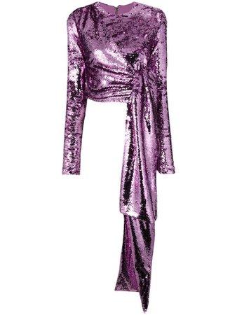 16ARLINGTON sequinned blouse