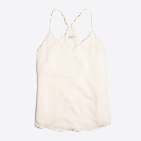 J.Crew Factory: Scalloped Cami Top For Women