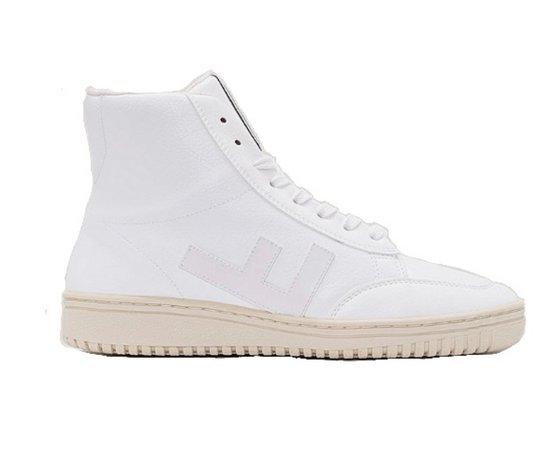 flamingos ecologic   white sneakers