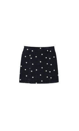 Daisy mini skirt - Women's Just in | Stradivarius United States