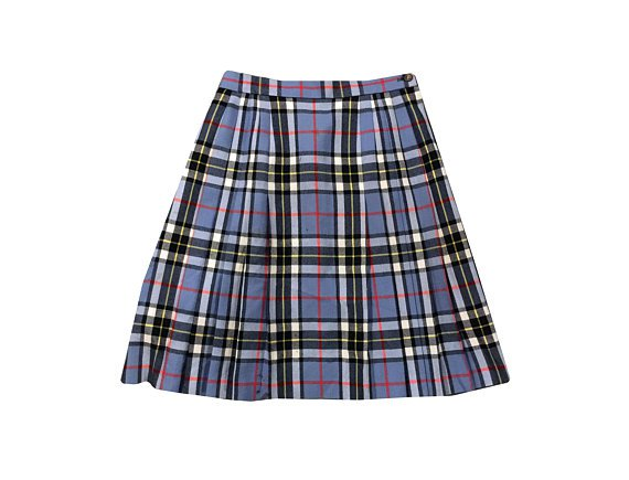 90s Tartan Plaid Skirt | Clueless Skirt