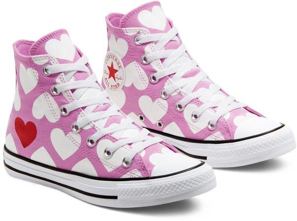 Chuck Taylor(R) All Star(R) Heart High Top Sneaker