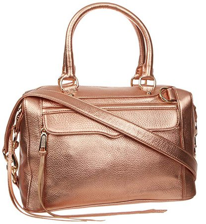 Amazon.com: Rebecca Minkoff MAB Mini, Rose Gold: Clothing