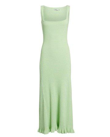 Anna Quan Dido Sleeveless Rib Knit Midi Dress | INTERMIX®