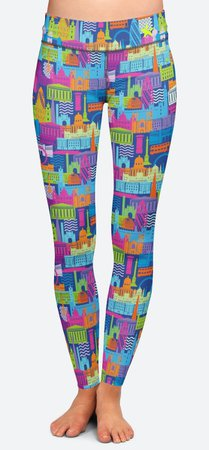 Women's Leggings | London Calling | FLANCI
