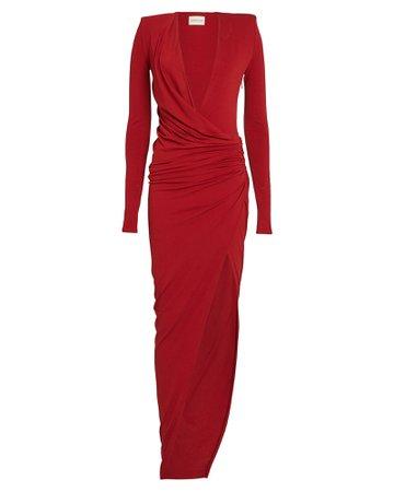 Alexandre Vauthier | Draped Jersey Dress | INTERMIX®