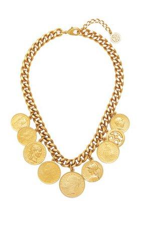 Gold-Plated Coin Necklace By Ben-Amun | Moda Operandi