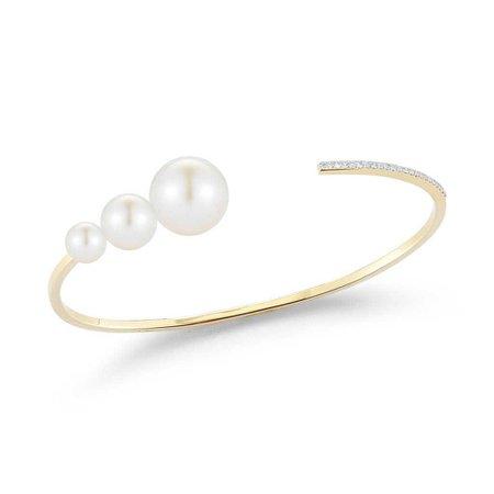 Graduated Pearl Cuff – Stephanie Gottlieb Fine Jewelry