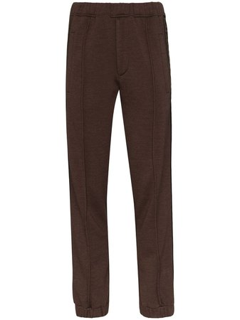 Fendi Roma logo-striped Track Pants - Farfetch